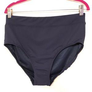 Lands' End Tummy Control Highwaisted Bikini Bottom